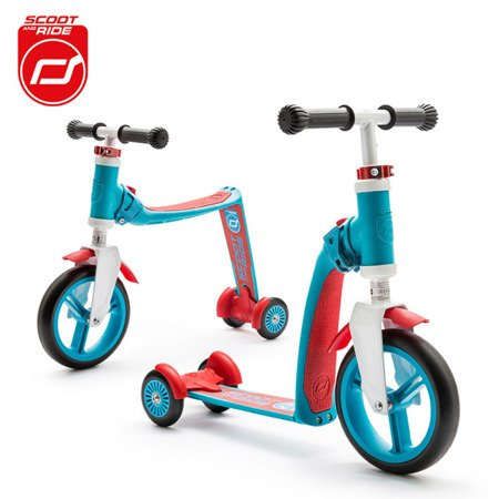 SCOOTANDRIDE Highwaybaby PLUS 2w1 hulajnoga i rowerek 1+ Blue