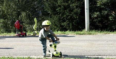 SCOOTANDRIDE Highwaykick 2w1 Jeździk i hulajnoga 1-5 lat Red