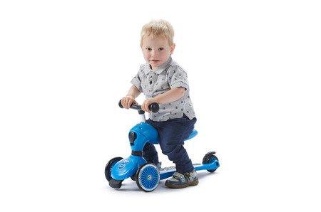 SCOOTANDRIDE Highwaykick 2w1 Jeździk i hulajnoga 1-5 lat Blue
