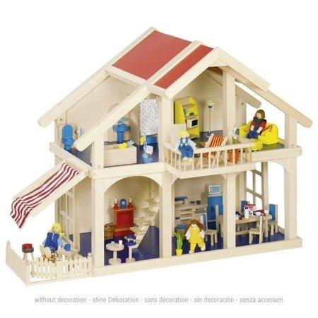 Domek dla lalek z patio, GOKI-51893
