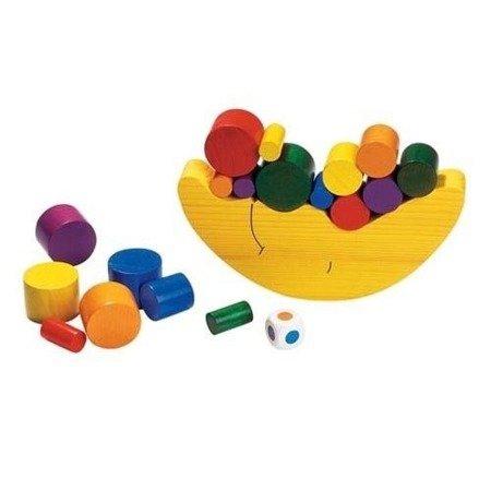 Drewniana gra Balansujący księżyc, edukacyjna zabawa, Goki HS 540