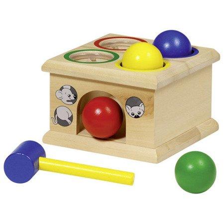 Drewniana gra złap myszkę, Goki-WM914