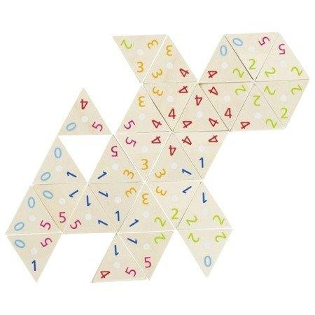 Drewniane domino trójkąty matematyczne, Goki