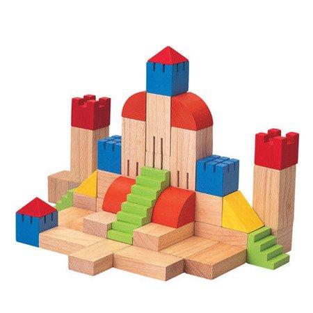 Drewniane klocki kreatywne, Plan Toys®