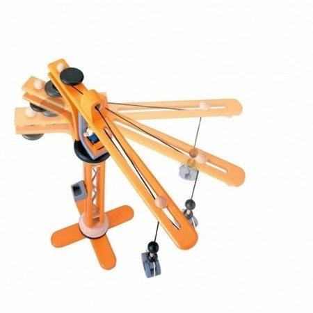 Drewniany dźwig, Plan Toys  PLTO-6086