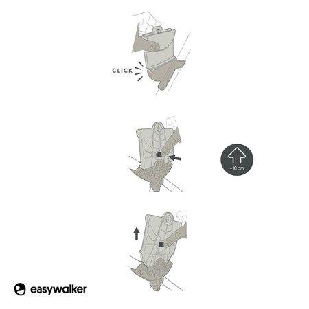 Easywalker Harvey/Harvey2 Adapter wysokości do wózka