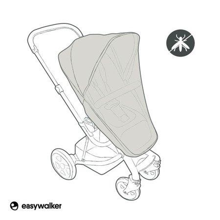 Easywalker Harvey Moskitiera na siedzisko wózka