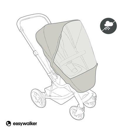 Easywalker Harvey/Harvey2/Charley Osłona przeciwdeszczowa na siedzisko wózka