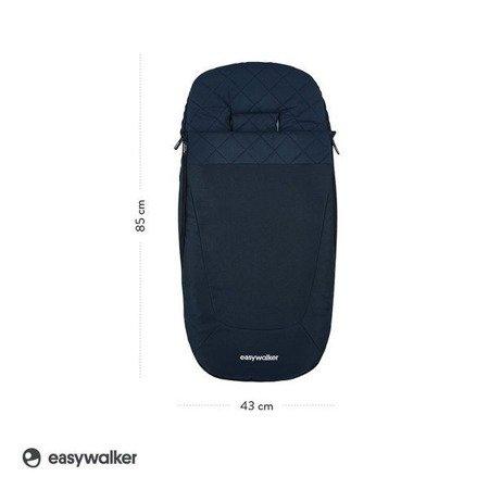 Easywalker Śpiworek do wózka na zimę Sapphire Blue