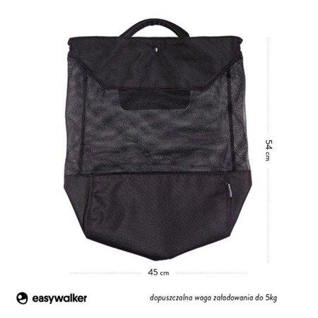 Easywalker Torba do wózka na zakupy XL czarna uniwersalna