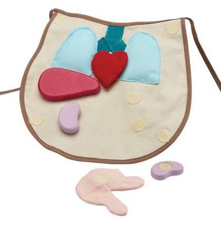 Edukacyjny zestaw mały pacjent chirurgiczny, Plan Toys