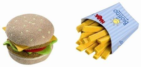 Hamburger + Frytki (zestaw)