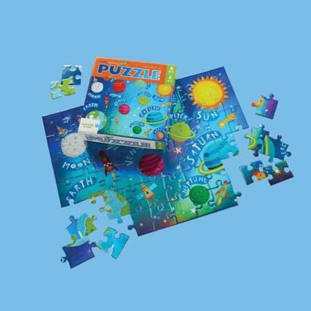 Holograficzne puzzle 60 el. Przestrzeń kosmiczna