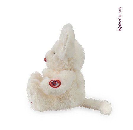 Kaloo Myszka kość słoniowa 19 cm kolekcja Rouge