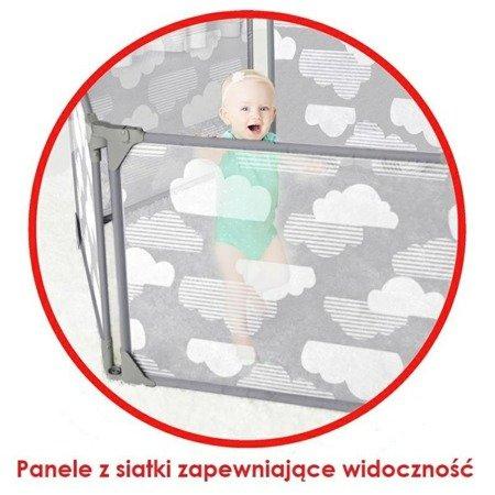 Kojec wielowariantowy Chmurka z panelem do zabawy