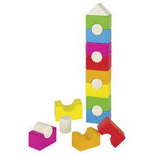 Kolorowa wieża do układania, GOKI-58587