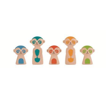 Kręgle dla dzieci, surykatki   Plan Toys®