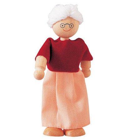 Laleczka drewniana, Babcia, do domku dla lalek, Plan Toys®