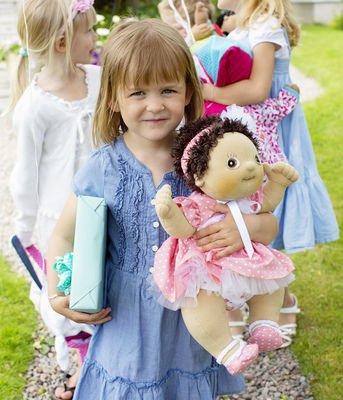 Lalka Rubens Baby, Molly z 4 ubrankami, Rubens Barn, RB-120094