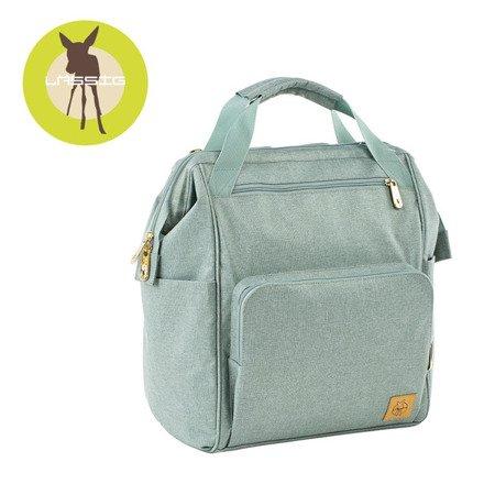 Lassig Glam Label Plecak dla mam z akcesoriami Goldie Backpack Mint