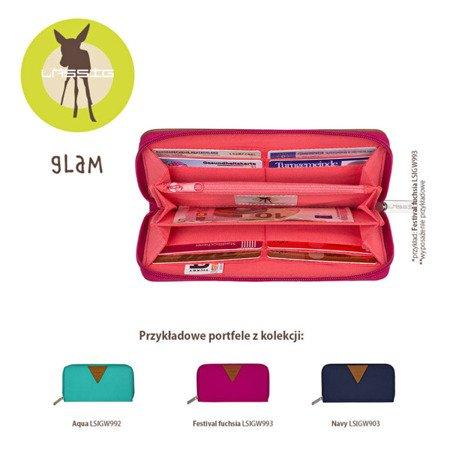 Lassig Glam Label Portfel Signature Aqua
