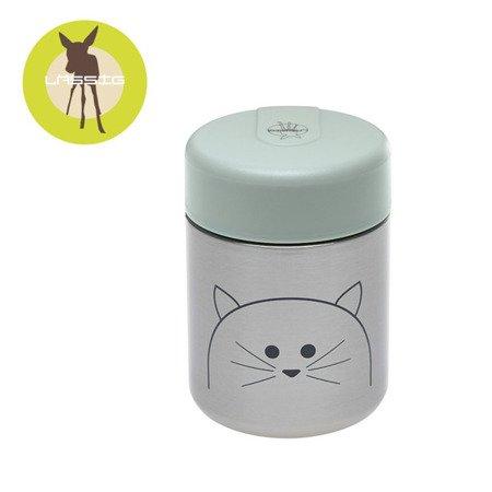 Lassig Pojemnik-termos na posiłki Little Chums Kot