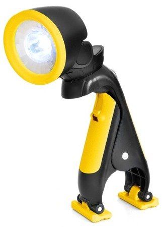 Latarka LED z uchwytem National Geographic