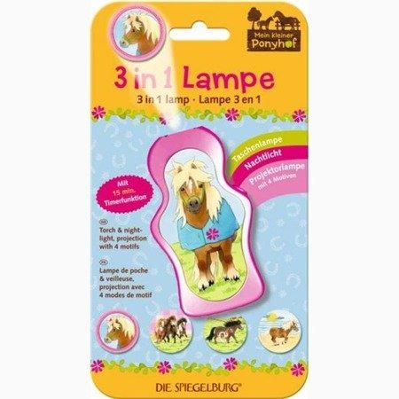 Latarka/lampka nocna/projektor Pony