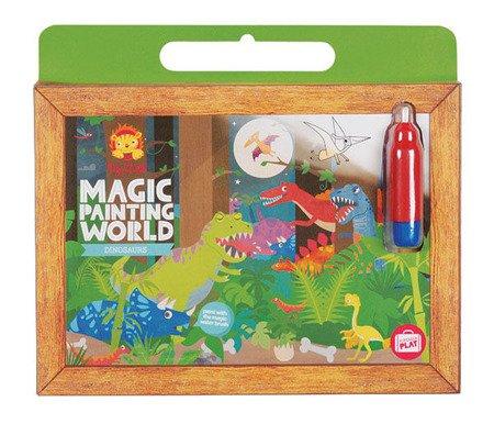 Magiczne Malarstwo. Obrazki wodne: Dinozaury