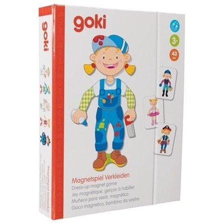 Magnetyczna przebieranka Dziewczynka, Goki