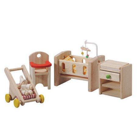 Mebelki dla lalek pokój niemowlaka, Plan Toys PLTO-7329