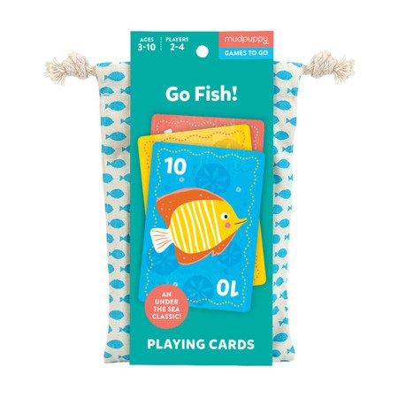 Mudpuppy Gra karciana Na ryby! w podróżnym opakowaniu 3+
