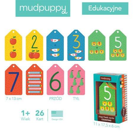 Mudpuppy Karty do nauki liczenia Fiszki 1+