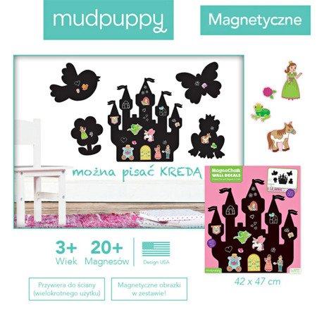 Mudpuppy Naklejki magnetyczne - tablice kredowe Księżniczki
