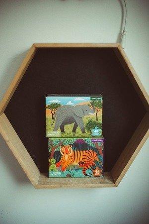 Mudpuppy Puzzle mini Tygrys bengalski 48 elementów 4+
