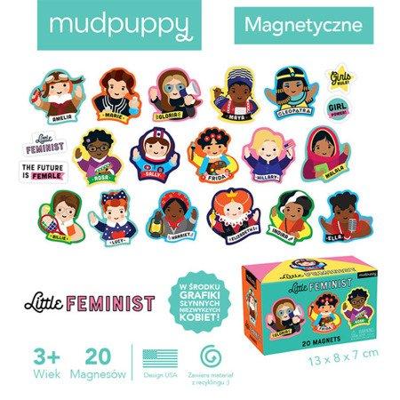 Mudpuppy Zestaw magnesów Niezwykłe kobiety 20 elementów