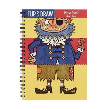 Mudpuppy Zeszyt do rysowania potrójny Piraci
