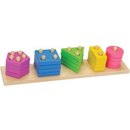 Pastelowy sorter kształtów, GOKI-58927