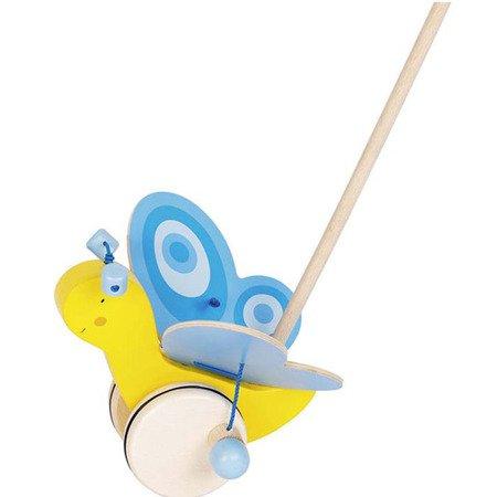 Pchacz Motyl I - zabawka do pchania, Goki