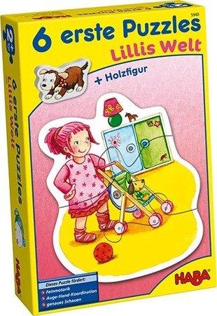Pierwsze Puzzle - Świat Lilli