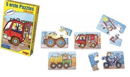 Pierwsze puzzle - Pojazdy
