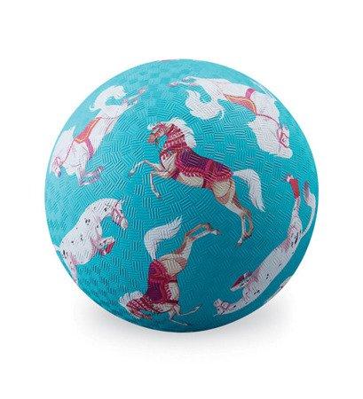 Piłka 13 cm, motyw konie