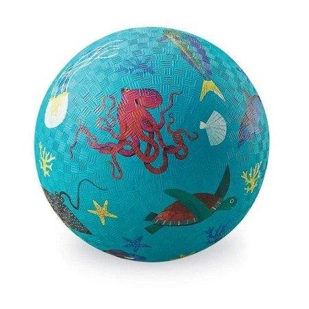 Piłka 18cm, wzór zwierzęta morskie, Crocodille Creek