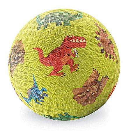 Piłka 7'', 18cm, motyw Dinozaury, Crocodile Creek