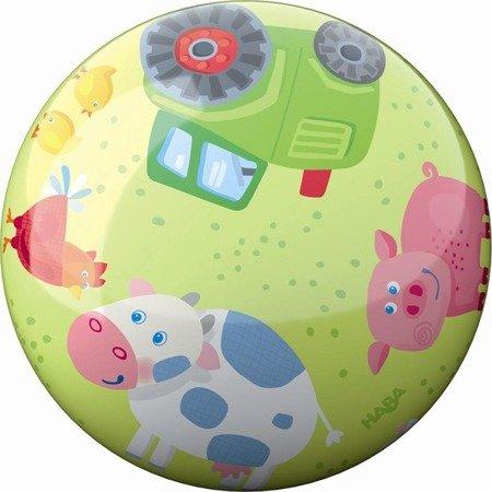 Piłka Zwierzątka na Farmie 22cm Haba