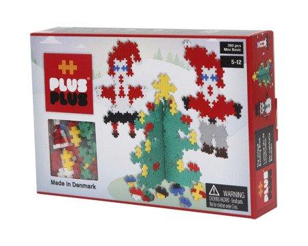 Plus-Plus, Mini Basic - 360 szt. - Święty Mikołaj