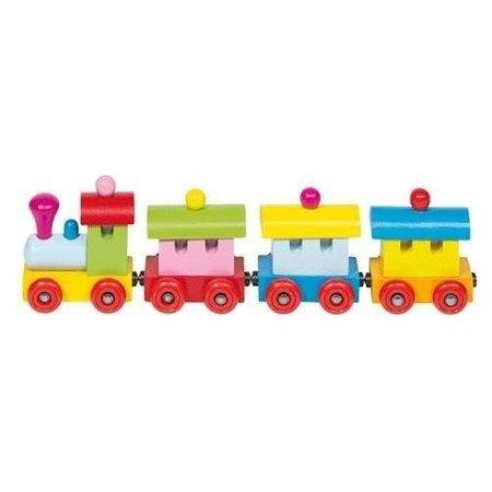 Pociąg Sofia, zabawka z magnesami, Goki 55978