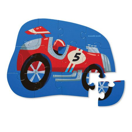Puzzle 12 el., Samochód wyścigowy, Crocodile Creek 4112-7