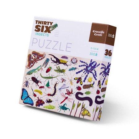 Puzzle 300el., motyw insekty, Crocodile Creek