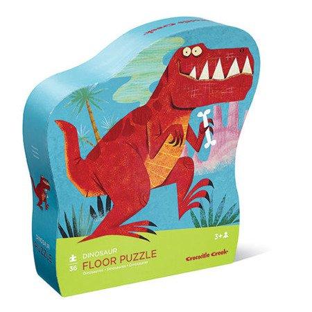 Puzzle 36 el., Dinozaury,  Crocodile Creek